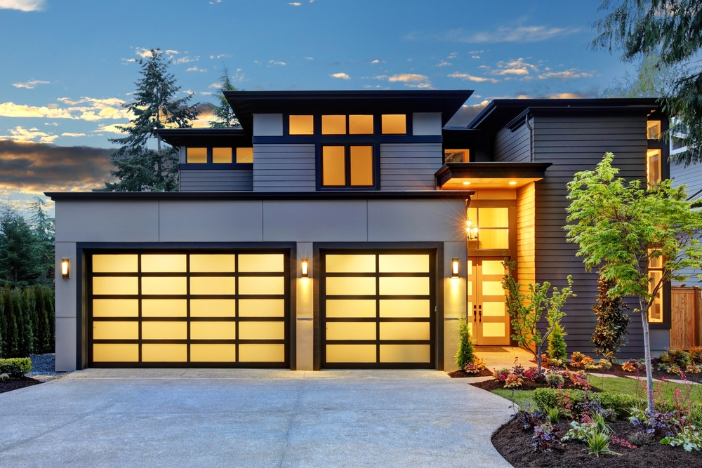 Home with garage space
