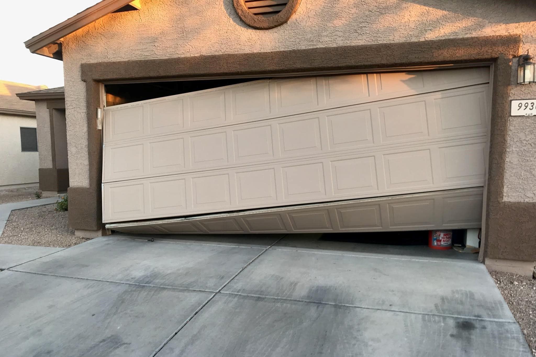 before garage door repair tucson